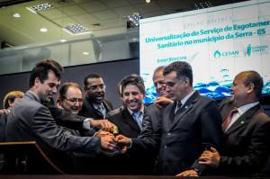 A universalização é parte do Plano Estadual de Saneamento, que prevê investimentos de mais de R$ 1 bilhão entre 2011 e 2014.