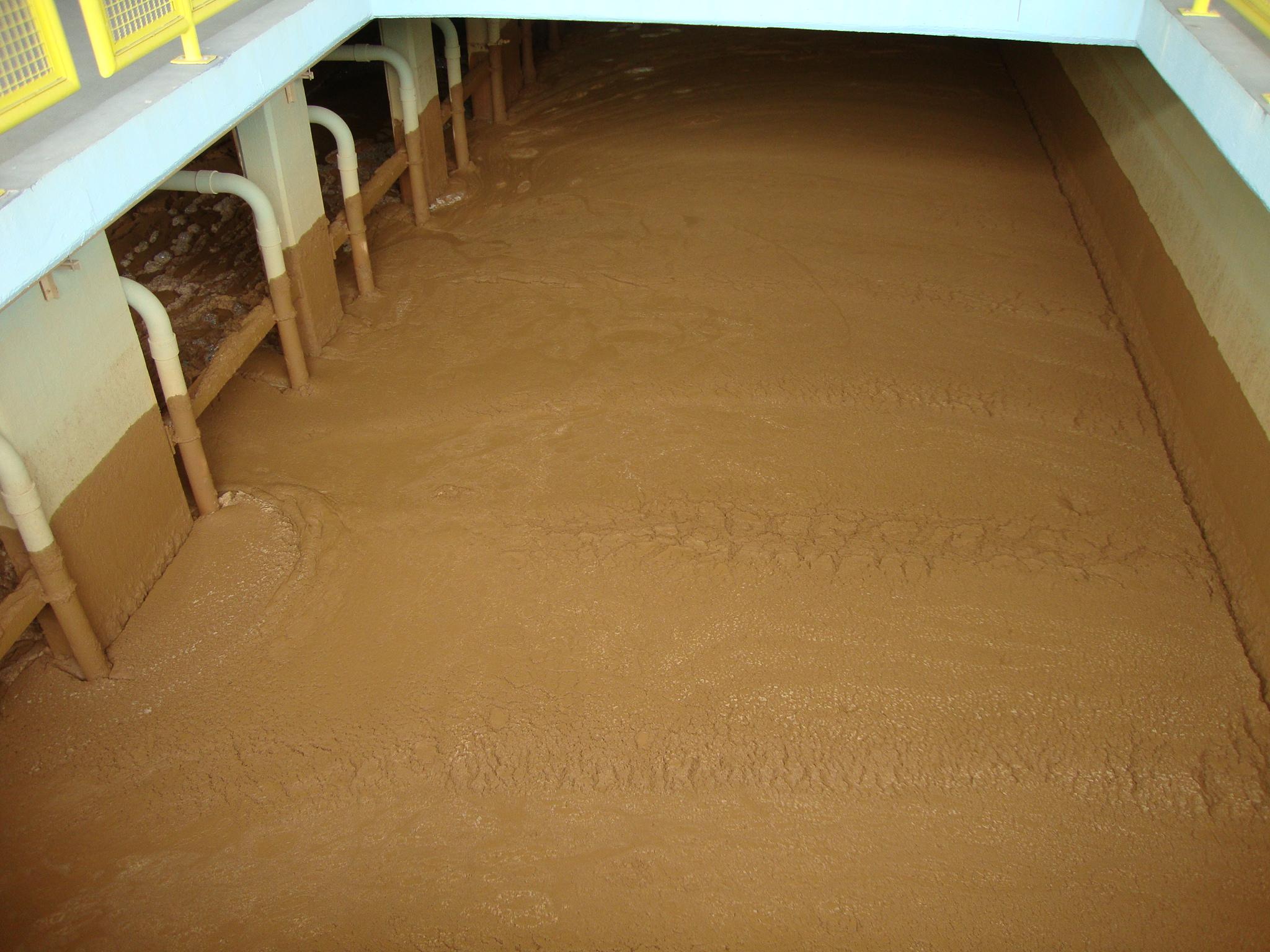 Acúmulo de sedimentos