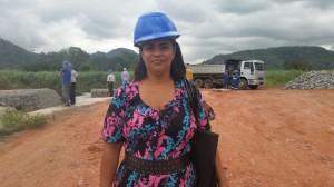 Joelma Gregório, líder comunitária de Putiri.