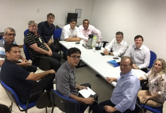 Reunião diretores e vereadores da Serra