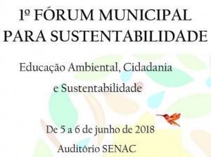 Forum Sustentabilidade Brejetuba
