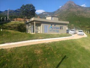 Estação de abastecimento de água em Pedra Menina, Dores do Rio Preto
